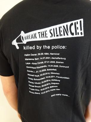 t-shirt black back kl